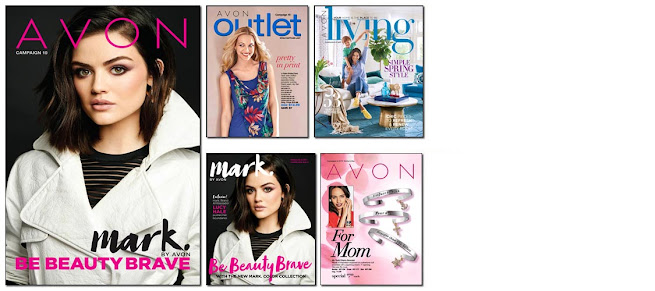 Avon Campaign 10 becomes active online to shop on 4/15/17 - 4/28/17. Click on image or here >>>