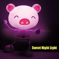 sweet night light
