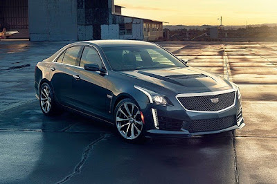 2016 Cadillac CTS-V Front View Model