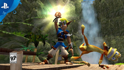 Game Jak And Daxter - The Lost Frontier PPSSPP ISO High Compress For Android