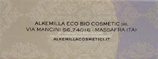 Alkemilla - Sapone artigianale struccante - packaging