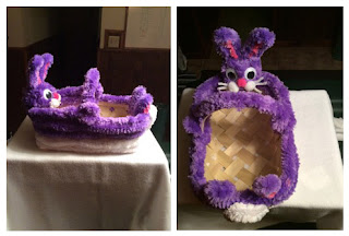 Cute Easter Baskets made from Brain Noodles By Susan Green.