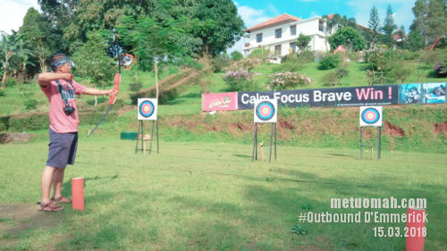 Camping, Archery, dan High Ropes yang Menantang