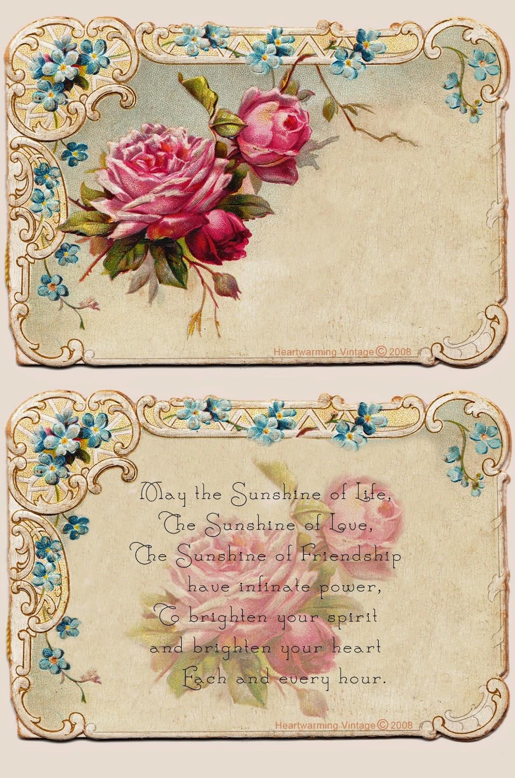 Crafty Secrets Heartwarming Vintage Ideas and Tips: Free ...
