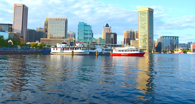 Visite de Baltimore, Maryland, USA