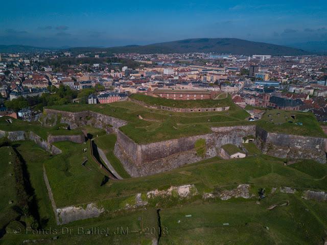 Citadelle de Belfort, le château… une caserne à l'épreuve des années 1820 !