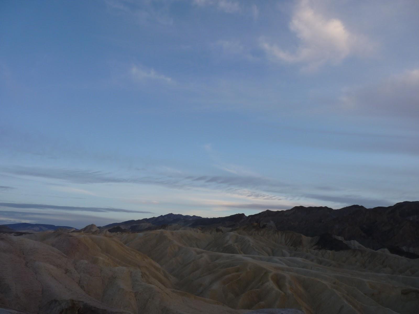 Zabriskie Point, Death Valley, Californie