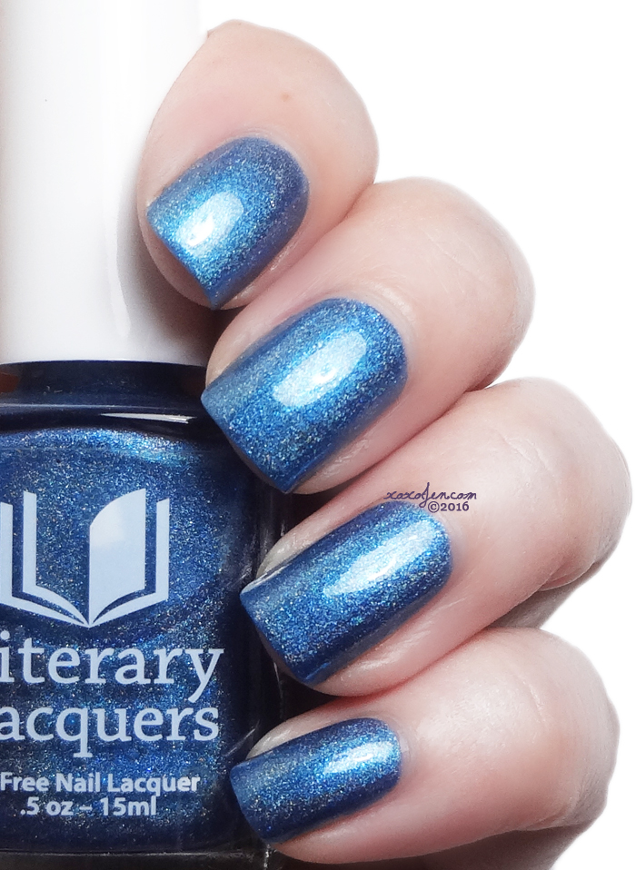 xoxoJen's swatch of Literary Lacquers Sugar, Curiosity, and Rain