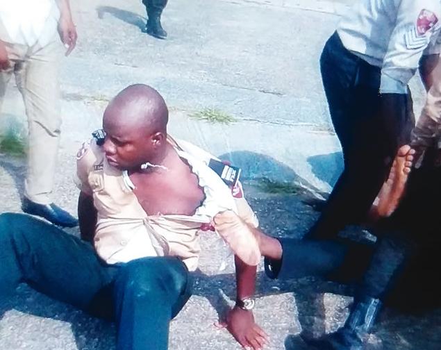 frsc officials beaten calabar
