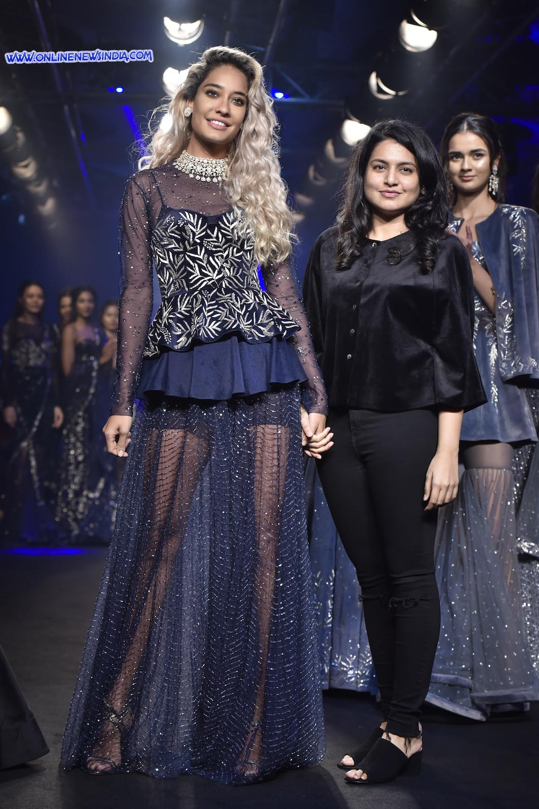 Swapna Anumolu, Mishru with her showstopper Lisa Haydon