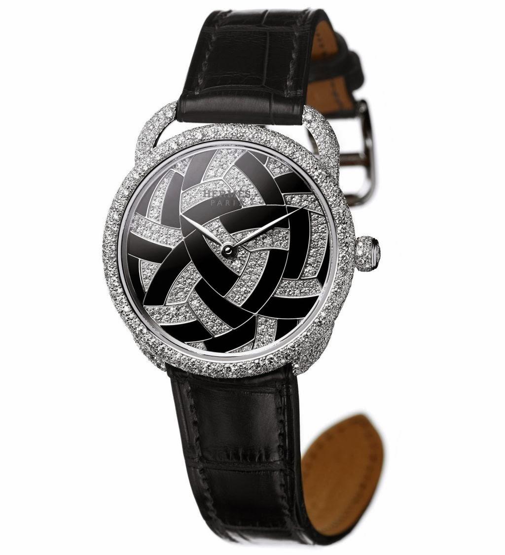 Hermès Arceau Temari watch