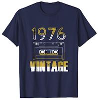 1976 vintage T-Shirt gift Birthday Men Women