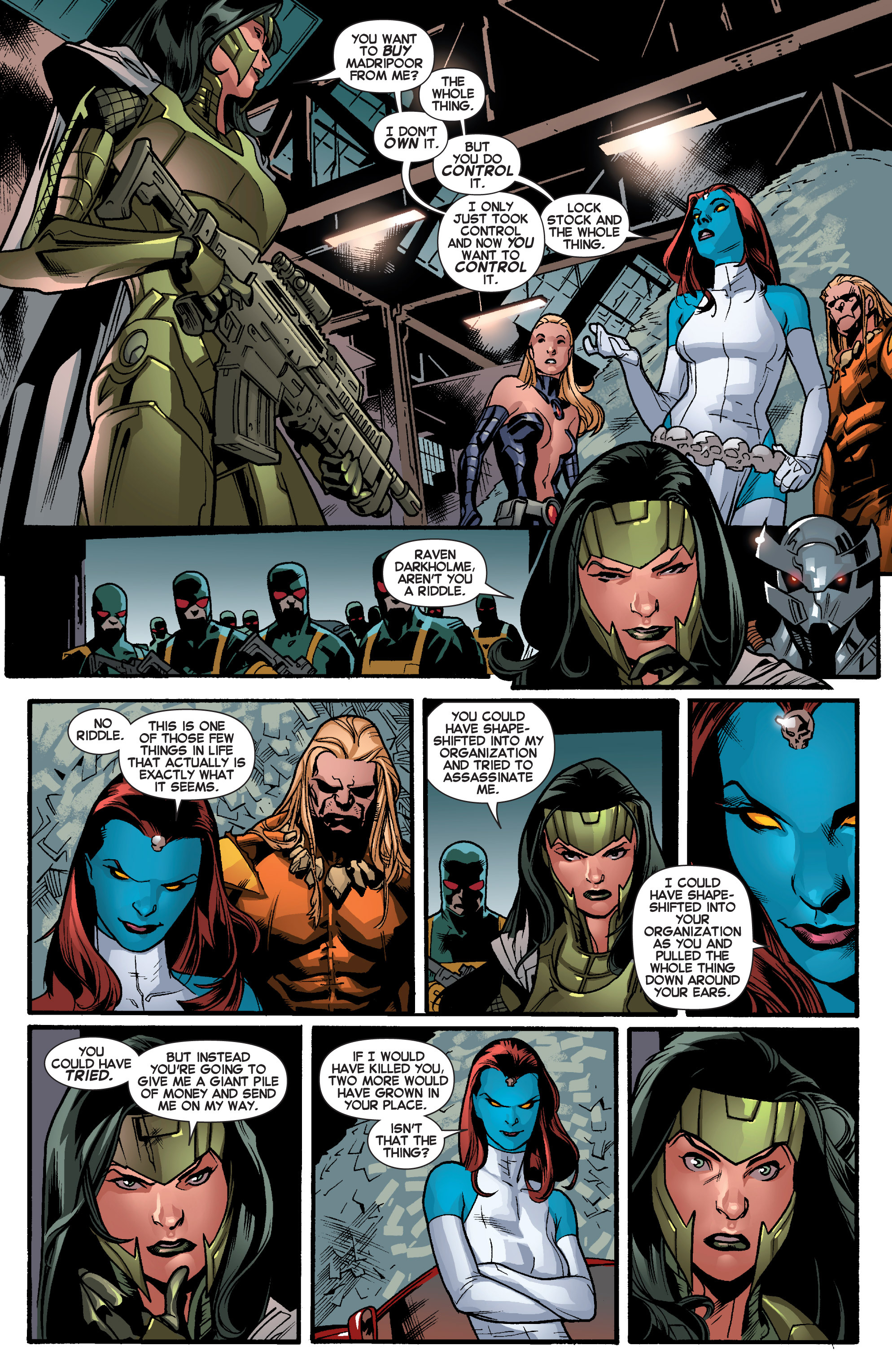 Read online All-New X-Men (2013) comic -  Issue # _Special - Out Of Their Depth - 62