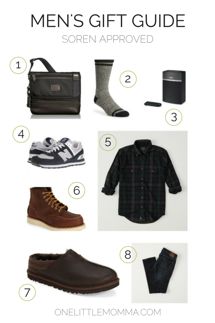 OLM Men's Holiday Gift Guide - ONE little MOMMA