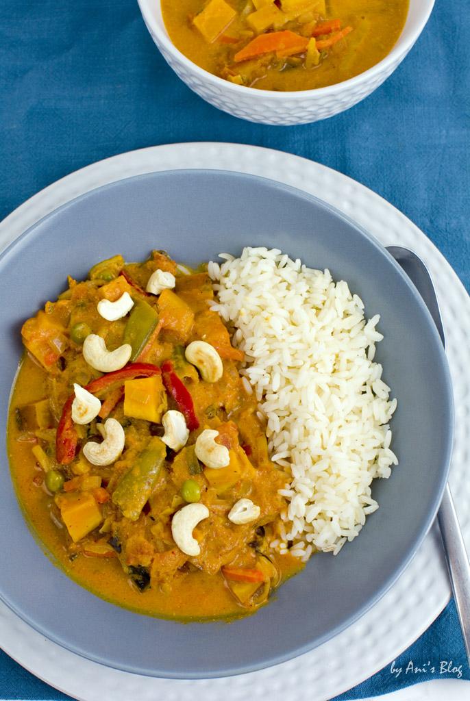 schnelles Süßkartoffel-Wokgemüse Curry für das du nur 6 Zutaten ...