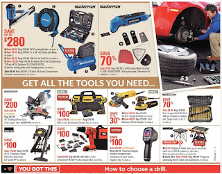 Canadian Tire tools set sale flyer October 13 - 19, 2017