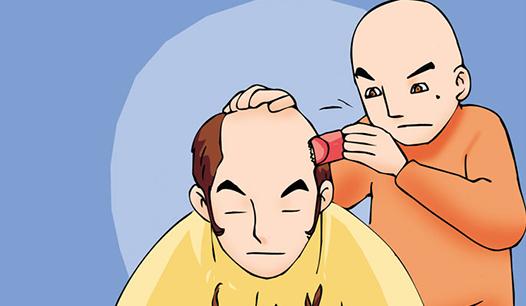 Kim Chi & Củ Cải (bộ mới) phần 847: Cạo đầu