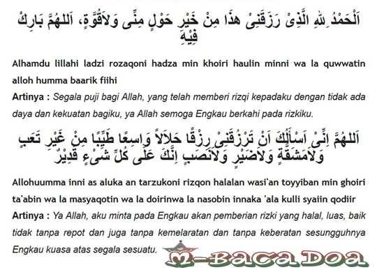 Amalan Doa Agar Dimudahkan Mencari Rezeki Yang Halal Oleh Alloh SWT