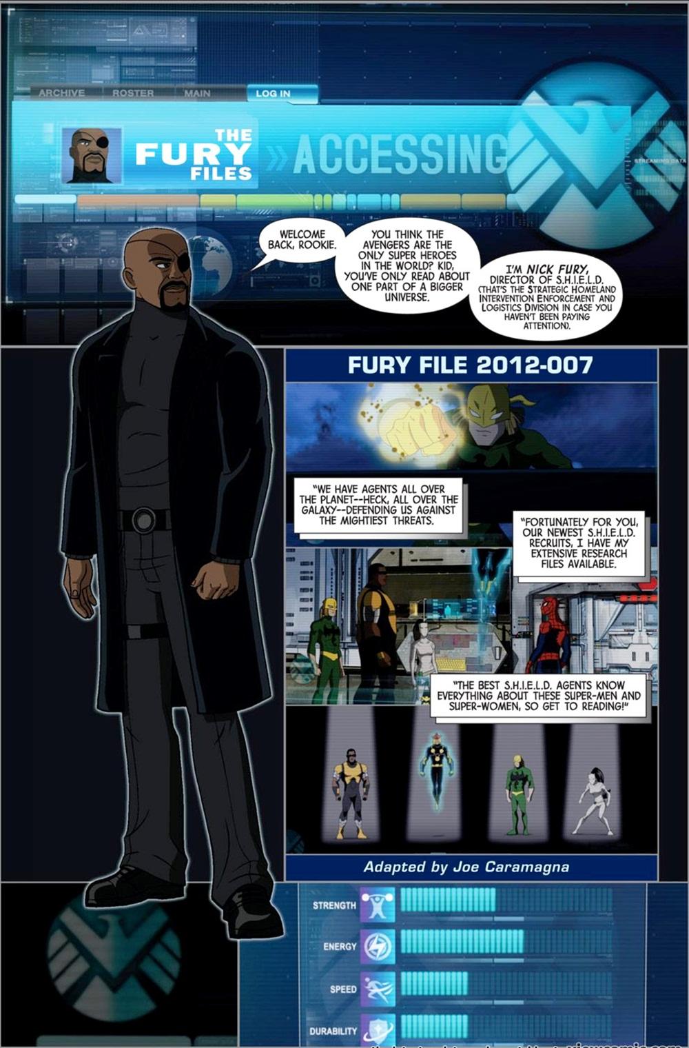 Marvel Universe – Avengers Earth's Mightiest Heroes 007 (2012