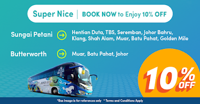 Easybook Bus Ticket Discount Promo