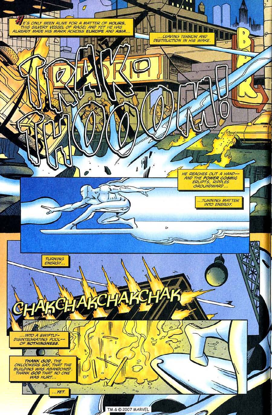 Read online Silver Surfer (1987) comic -  Issue #128 - 10