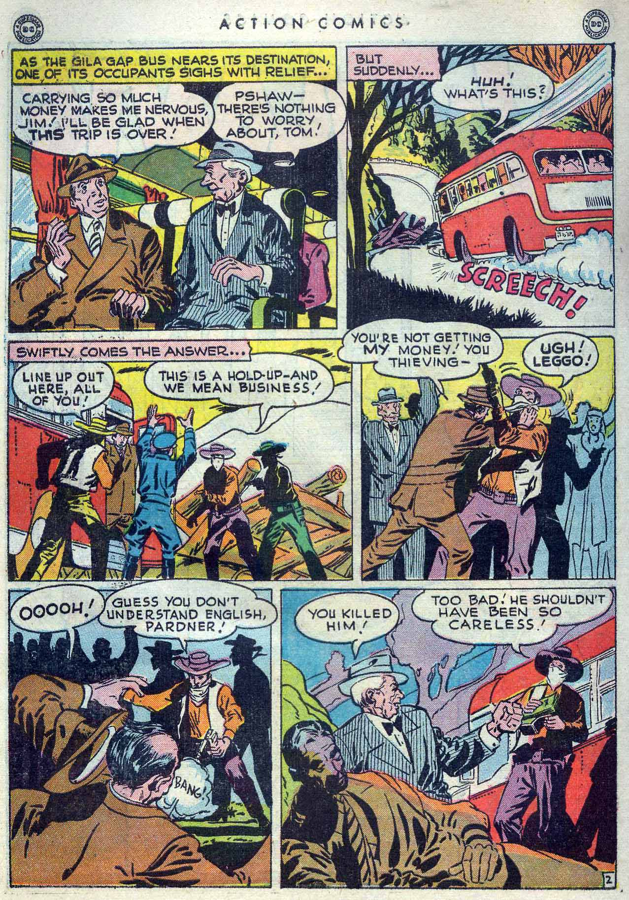 Read online Action Comics (1938) comic -  Issue #105 - 42