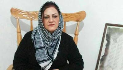 civil right activist Kobra Khalandi