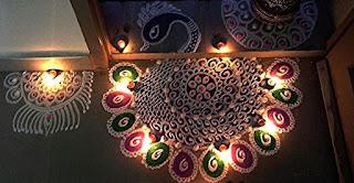 beautiful muggulu design for sankranti