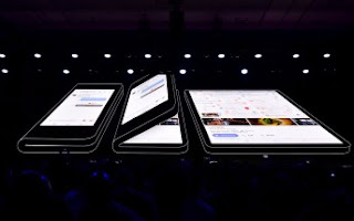 Samsung's foldable Phones