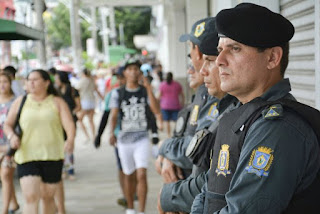 Guarda Metropolitana de Manaus (AM) participam de curso de autodefesa