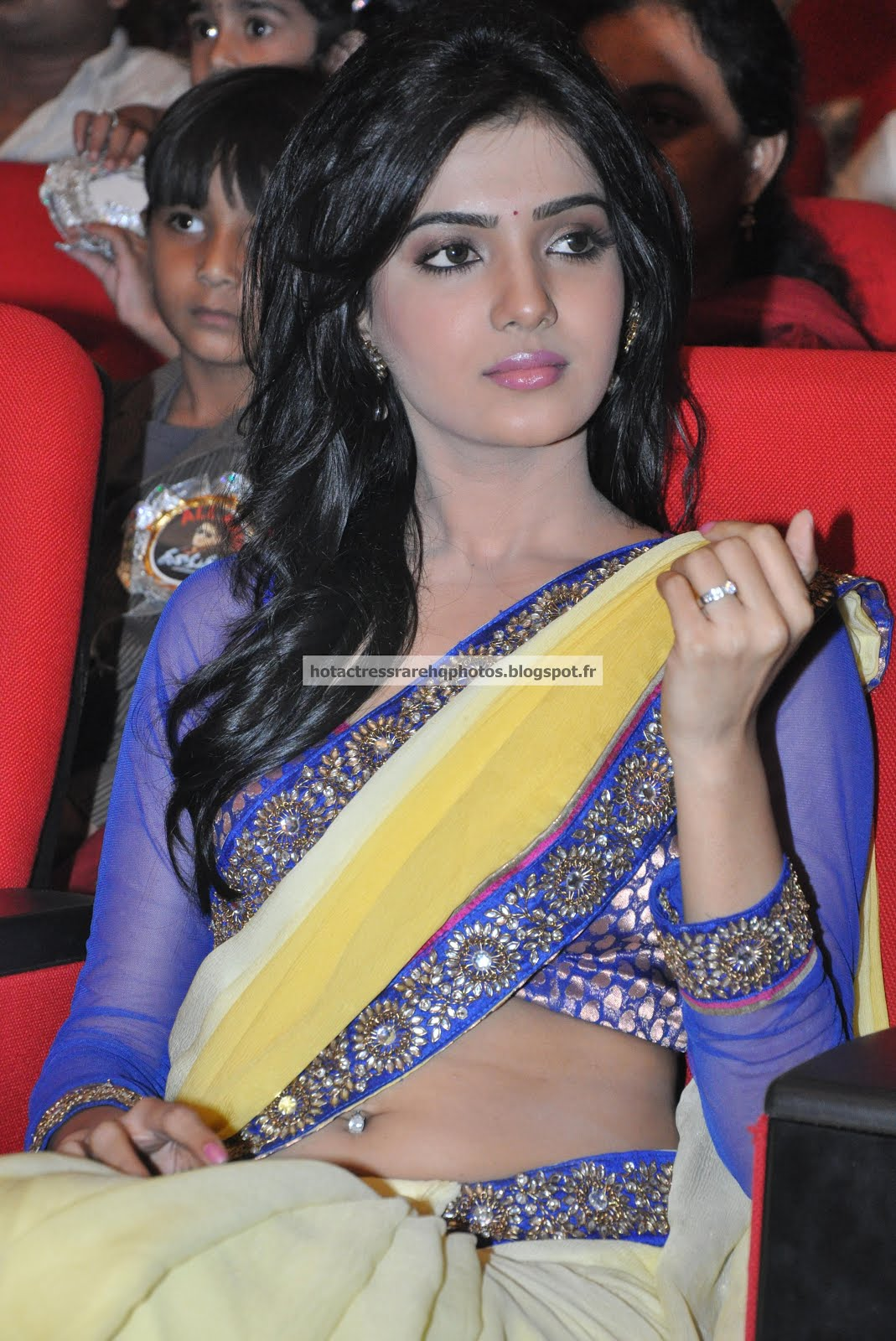 Something is. actress samantha ruth prabhu has touched