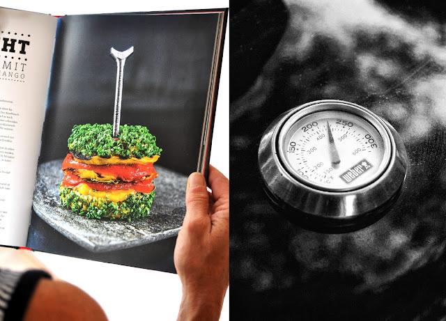 Falafel Burger aus Manuel Weyers Grillbuch New BBQ Burger
