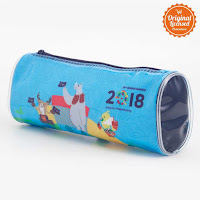Alfacart Asian Games 2018 Pencil Case Rainbow ANDHIMIND