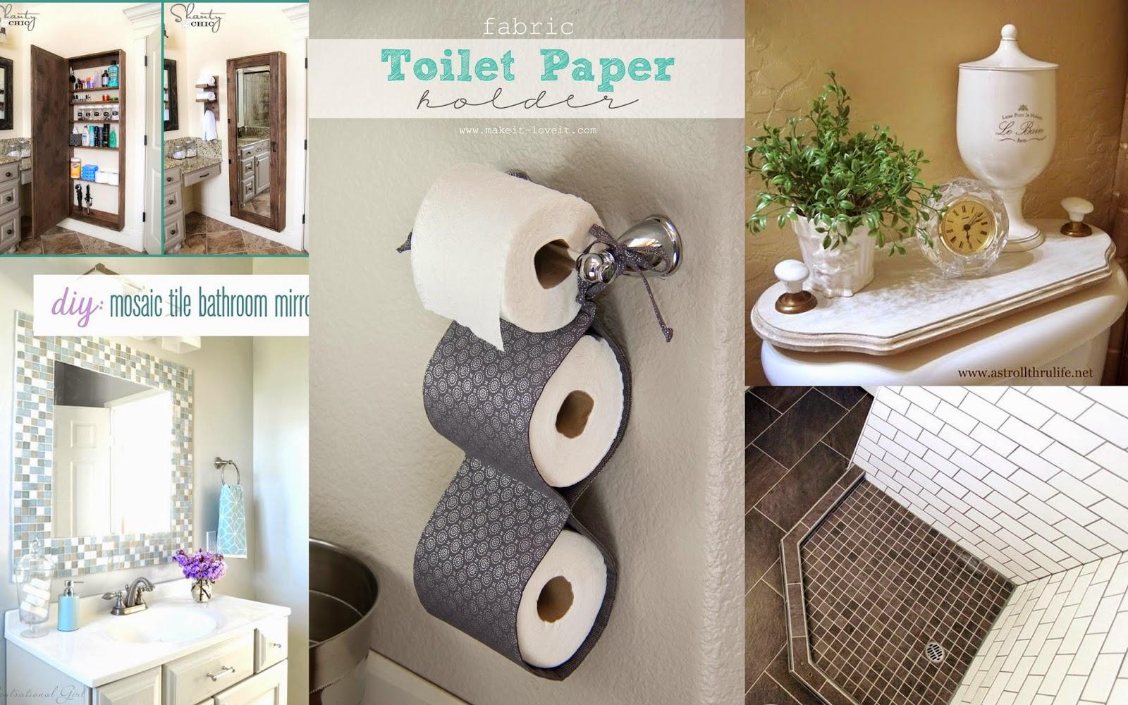 Bathroom Diy Ideas 19 43 Extraordinary Diy Bathroom Storage Ideas