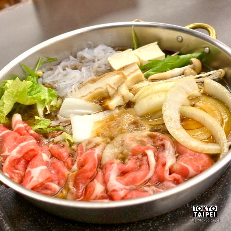 【雲海】暖暖的壽喜燒 北海道產牛豬¥2900吃到飽