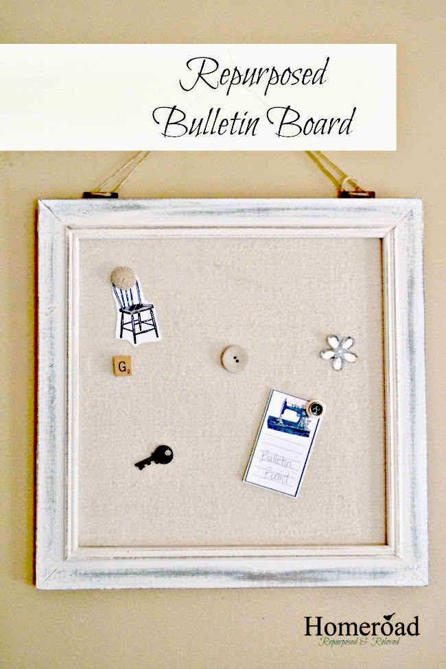 Repurposed Marshalls find Memo Board www.homeroad.net