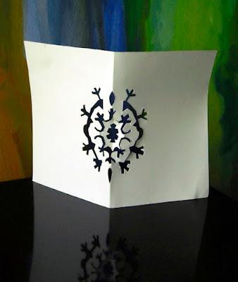 papierowa ozdoba