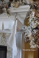 French Country-Christmas-Mantel Ideas-From My Front Porch To Yours
