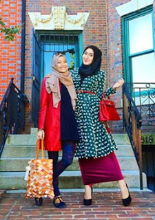 Mix And Match Busana Muslim Gaya Vintage