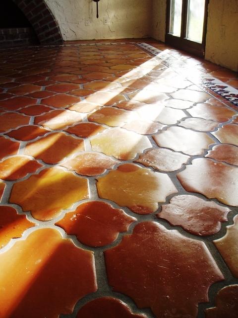 Terra Cotta Tile Or Saltillo Is