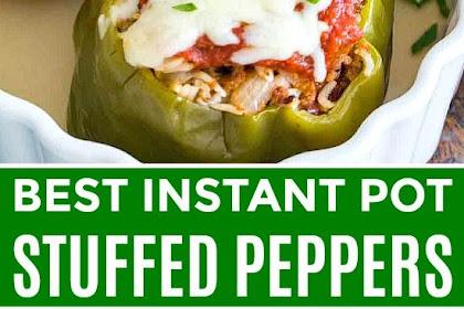Best Instant Pot Stuffed Peppers