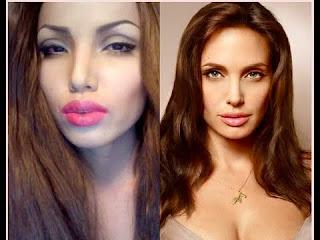 แต่งหน้าแบบ Angelina Jolie