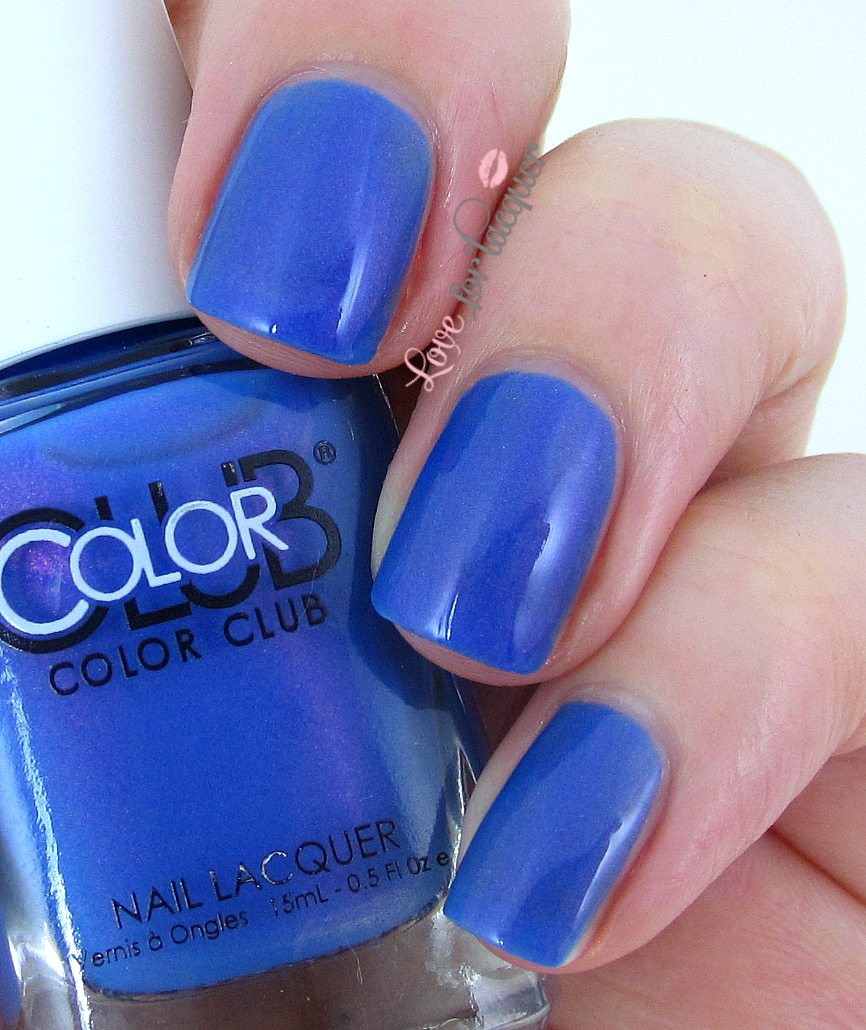 Blue Nail Polish Names: Color Club Poptastic Neon 2014 Collection