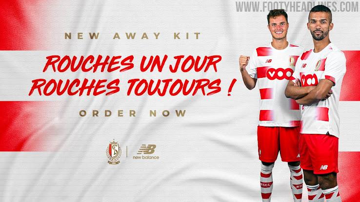 Standard Liège 20-21 Home & Away Kits Released - Footy Headlines