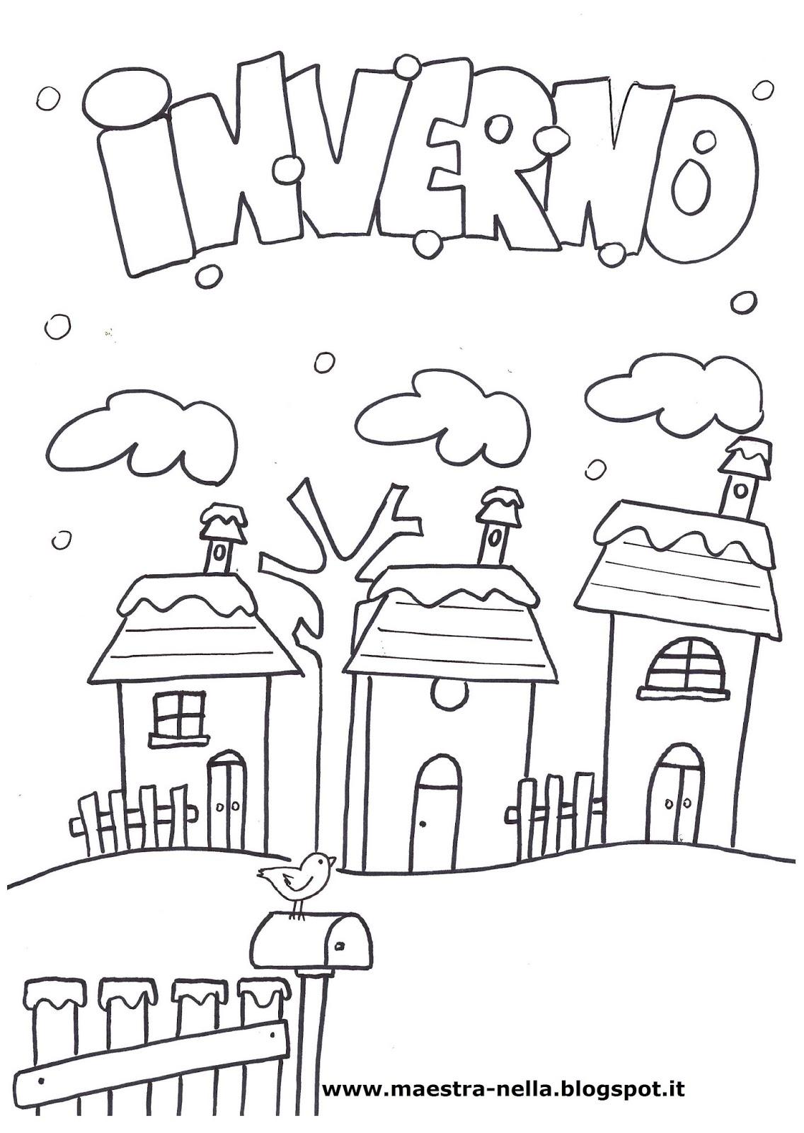 Molto maestra Nella: il libro dell'inverno LQ17