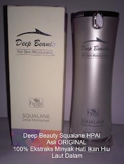 Jual serum deep beauty squalane hpai asli original pemutih+anti kerutan herbal