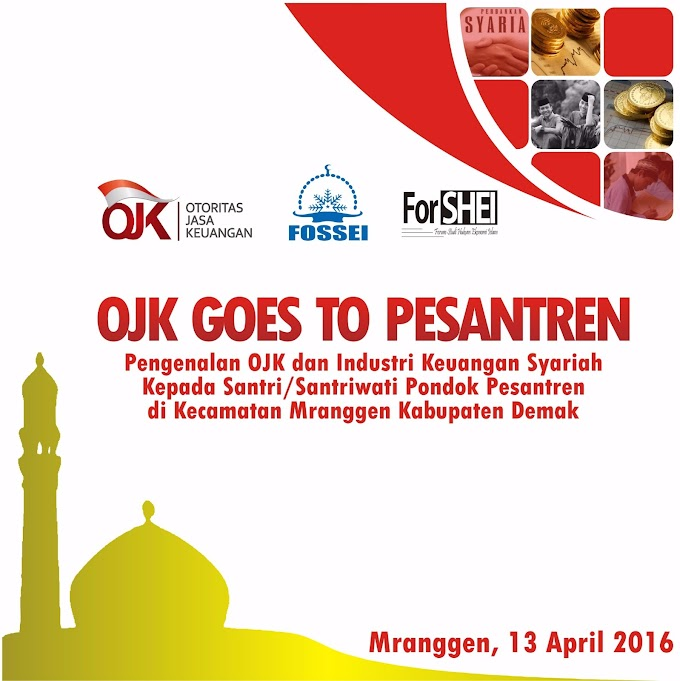 OJK-ForSHEI Goes To Pesantren