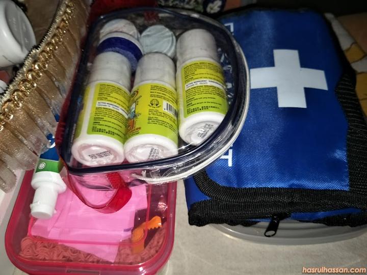 Ubatan untuk persediaan memancing dalam Taman Negara Malaysia