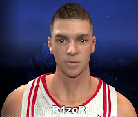 NBA 2K14 Chandler Parsons Cyberface Patch