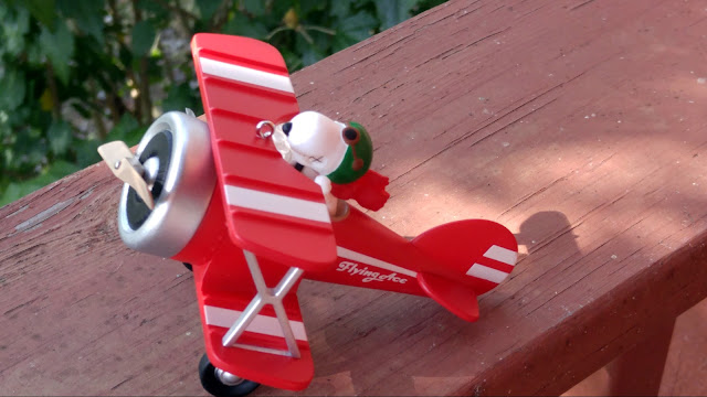 Hallmark Keepsake ornament The Flying Ace MWP giveaway